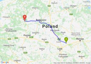 Trasa Łowicz - Piła