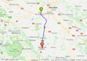 Kąty Wrocławskie - Ząbkowice Śląskie