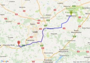 Skierniewice - Łask