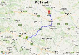 Trasa Przylesie - Kutno