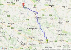 Trasa Brzesko - Konin