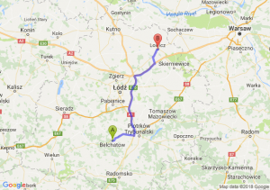 Trasa Bełchatów - Łowicz