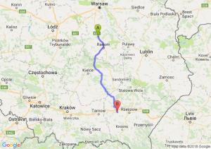 Trasa Białobrzegi - Ropczyce