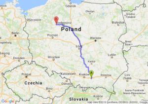 Trasa Brzesko - Wyrzysk