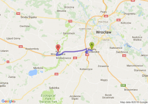 Bielany Wrocławskie - Kąty Wrocławskie