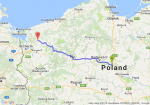 Toruń - Nowogard