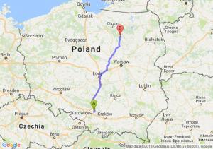 Trasa Dąbrowa Górnicza - Wielbark