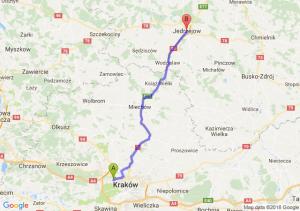 Trasa Bronowice - Jędrzejów