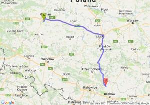 Puszczykowo (wielkopolskie) - Wolbrom (małopolskie)