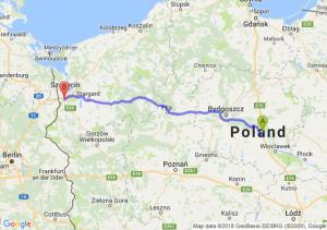 Trasa Ciechocinek - Radziszewo