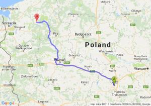 Łódź - Drawsko Pomorskie