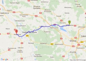 Trasa Pyskowice - Reńska Wieś