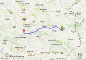 Lublin - Radomsko