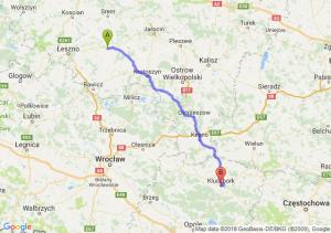 Gostyń - Kluczbork