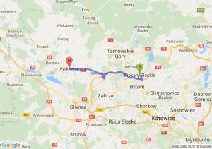 Trasa Piekary Śląskie - Pyskowice