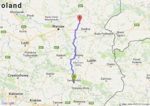 Sandomierz - Węgrów