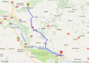 Golub-Dobrzyń (kujawsko-pomorskie) - Płock (mazowieckie)