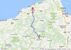 Trasa Człuchów - Słupsk