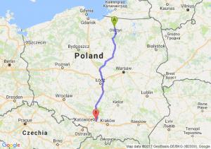 Trasa Dobre Miasto - Mysłowice