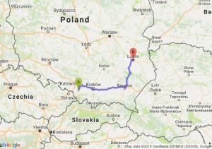 Trasa Pszczyna - Lublin