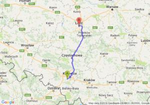 Trasa Mikołów - Łódź