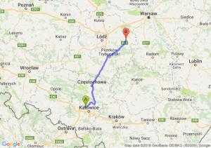 Trasa Bytom - Rawa Mazowiecka