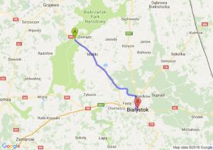 Osowiec-Twierdza - Białystok