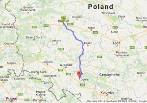 Poznań - Skorogoszcz