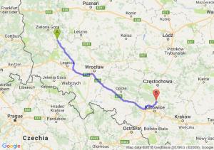 Trasa Bytom Odrzański - Pyrzowice