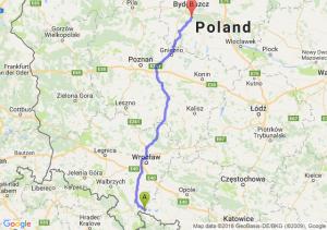 Paczków - Brzoza (koło Bydgoszczy)