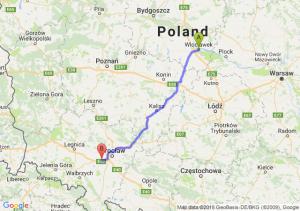Włocławek - Kąty Wrocławskie