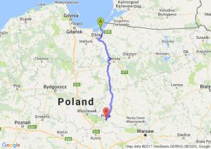 Tolkmicko (warmińsko-mazurskie) - Płock (mazowieckie)