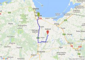 Gdańsk - Sztum