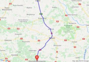 Trasa Grójec - Skarżysko-Kamienna