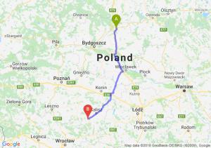 Trasa Grudziądz - Ostrów Wielkopolski