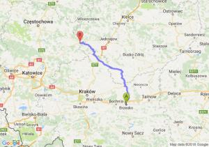 Trasa Brzesko - Szczekociny