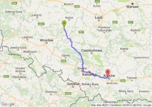 Trasa Antonin - Bronowice