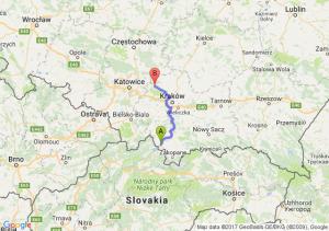 Jabłonka (małopolskie) - Olkusz (małopolskie)