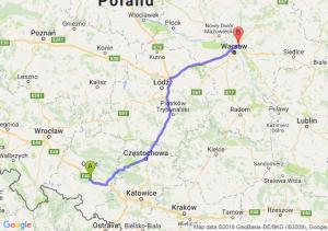 Trasa Dąbrówka Górna - Marki