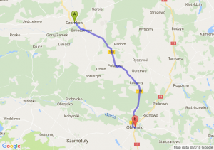 Trasa Czarnków - Oborniki
