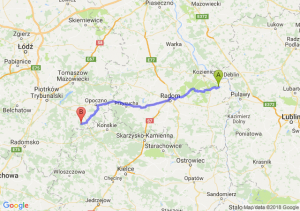 Trasa Bąkowiec - Żarnów