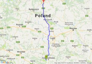 Trasa Blachownia - Grudziądz