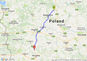 Trasa Morsk - Żmigród