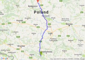Trasa Lubliniec - Chełmno