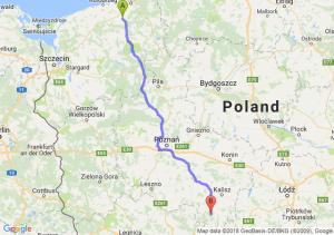 Trasa Białogard - Antonin