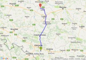 Trasa Oświęcim - Krośniewice