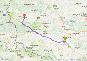 Trasa Bielany Wrocławskie - Żagań
