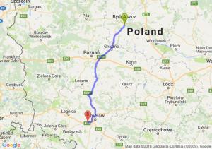 Brzoza (koło Bydgoszczy) - Kąty Wrocławskie