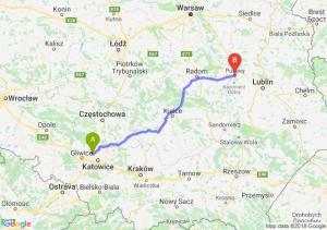 Trasa Bytom - Puławy
