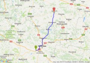 Kąty Wrocławskie - Jarocin